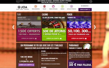 JOA Online, un bookmaker en plein essor