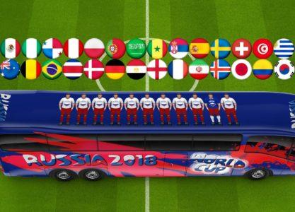 Parier sur la coupe du monde 2018